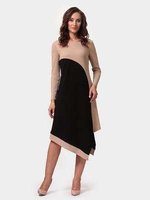 Платье двухцветное | 4791606