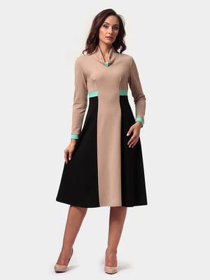 Платье двухцветное | 4791612