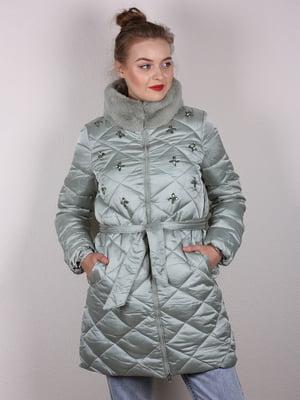 Пальто м'ятного кольору | 4770600