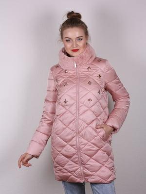 Пальто розовое | 4770602