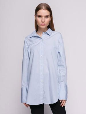 Рубашка голубая | 4776124