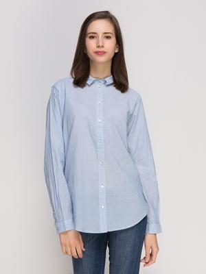 Рубашка голубая | 4775874