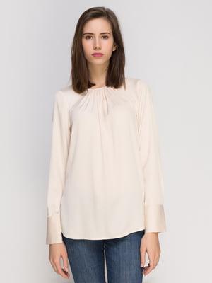 Блуза цвета шампань | 4775893