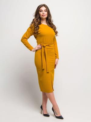 Платье горчичного цвета | 4788736