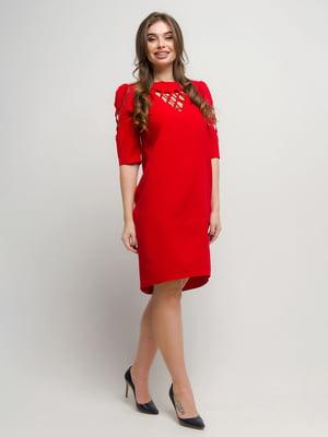 Платье красное | 4788754