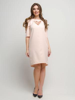 Платье цвета пудры | 4788755
