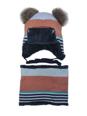 Комплект: шапка и шарф-снуд   4763038