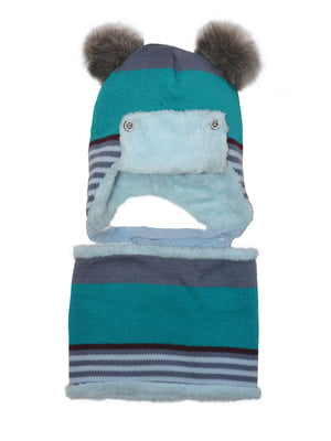 Комплект: шапка и шарф-снуд   4763039