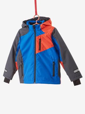 Куртка триколірна | 4793382