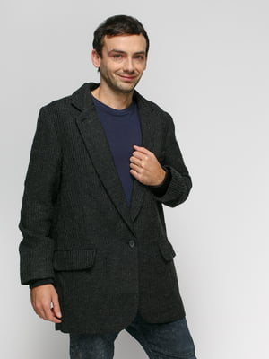 Пиджак темно-серый | 4776125