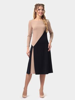 Платье двухцветное | 4794778