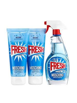 Набір Fresh Couture: туалетна вода (5 мл), лосьйон для тіла (25 мл), гель для душу (25 мл) - Moschino - 4794375