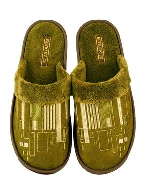 Тапочки зелені | 4721334
