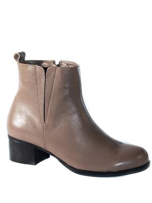 Ботинки бежевые | 4798082