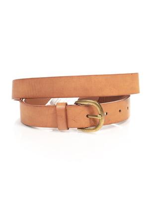 Ремінь коричневий | 4647135