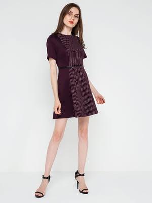 Сукня бордова | 4351252