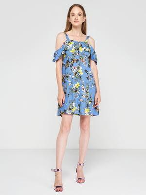Сукня в квітковий принт | 4351344