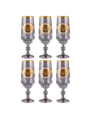 Набор бокалов шампанского «Медуза» (6 шт.) | 4799843