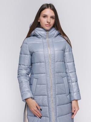 Пальто сіро-блакитне | 4768273