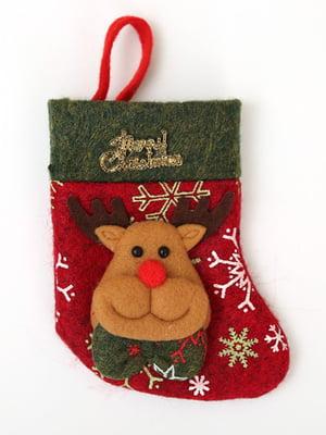 Носок рождественский для подарков | 4808482