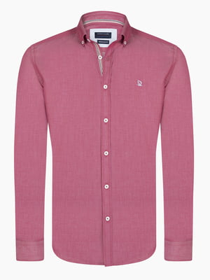 Рубашка бордовая | 4808436