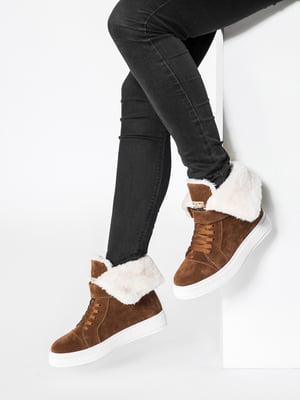 Ботинки коричневые | 4726423