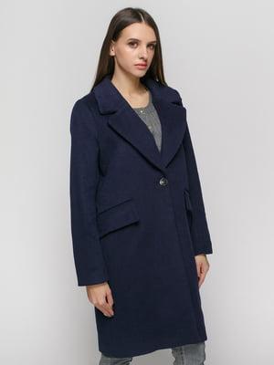 Пальто синее | 4777638