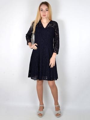 Сукня темно-синя | 4597512