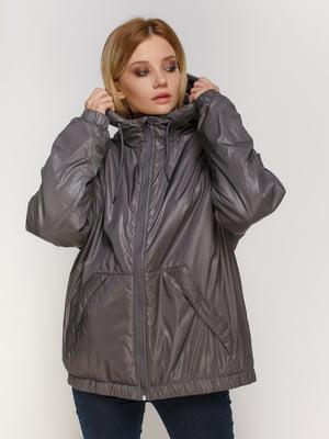 Куртка асфальтного цвета | 4780202