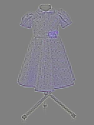 Платье розовое в принт   3062644