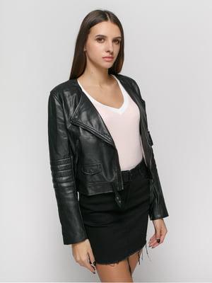 Куртка чорна | 3612629