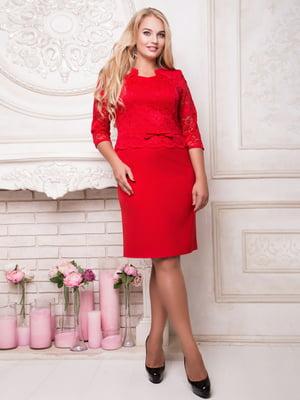 Сукня червона | 4809291