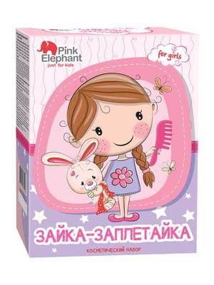 Набір «Зайка Заплетайка» для дівчаток | 4809444
