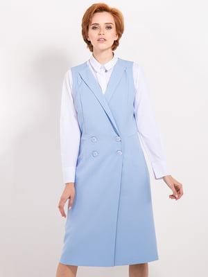 Сукня блакитна | 4717860