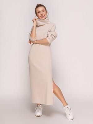 Платье бежевое | 4788303