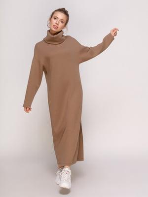 Платье цвета мокко | 4788304
