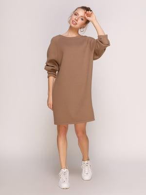 Платье цвета мокко | 4788312