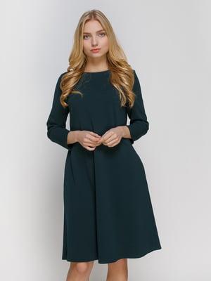 Сукня темно-зелена | 4810155