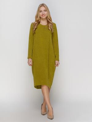 Сукня оливкового кольору | 4810150
