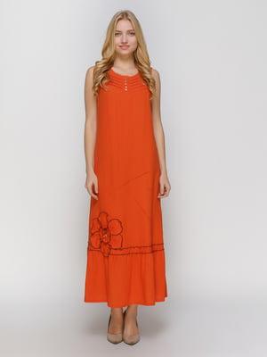 Сукня теракотова | 4810130