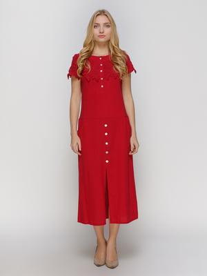 Сукня бордова | 4810174