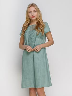 Сукня оливкового кольору | 4810125