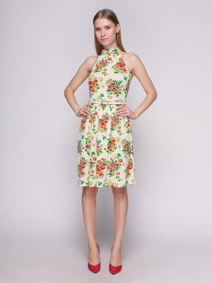 Платье молочного цвета | 402708