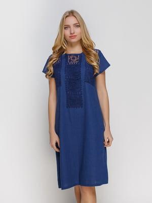 Платье темно-синее | 4810126