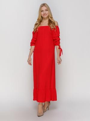 Сукня червона | 4810128