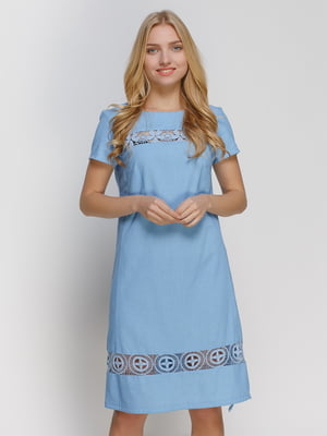 Платье голубое | 4810118