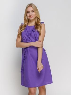Сукня фіолетова | 4810132
