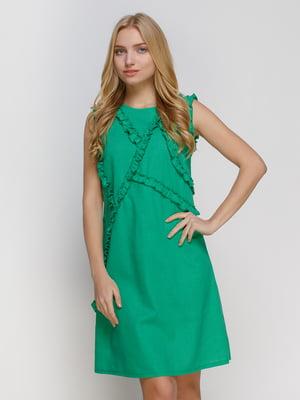 Платье зеленое | 4810131