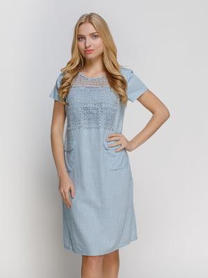 Сукня блакитна | 4810124