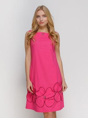 Платье малиновое | 4810134